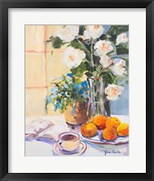 Morning Rose I Framed Print