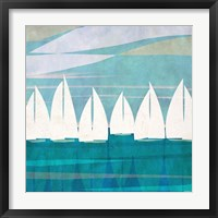 Framed Afternoon Regatta I