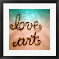 Framed Love Art