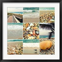 Framed Shell Beach (9 Patch)