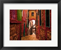 Framed Old Toledo