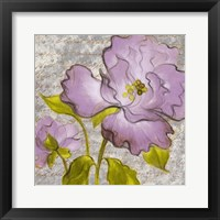 Purple Florals I Framed Print
