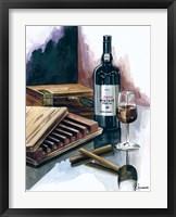 Framed Cigar Press