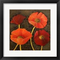 Framed Gilded Floral I