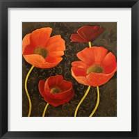Gilded Floral II Framed Print