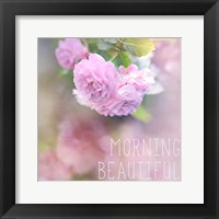 Framed Morning Beautiful
