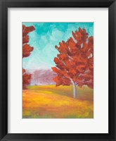 Framed Yellow Pasture