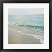 Beach Scene I Framed Print