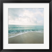 Beach Scene II Framed Print