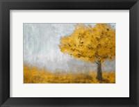 Framed Yellow Eternal Tree
