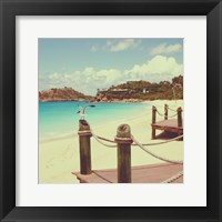 Island Vacation I Framed Print