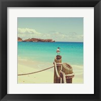 Island Vacation II Framed Print