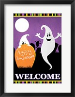 Framed Halloween Ghost I