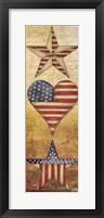 America Stars I Framed Print