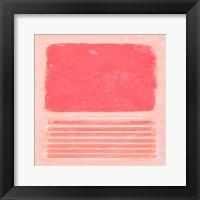 Framed Pastel Metamorphosis II