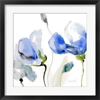 All Poppies II Framed Print