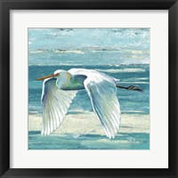 Framed Great Egret II