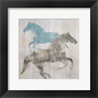 Framed Equine I