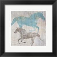 Framed Equine II