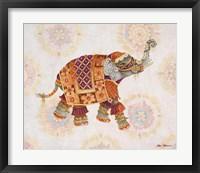 Framed Pink Elephant IB