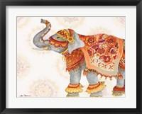 Framed Pink Elephant IIB