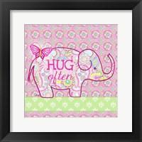 Framed Elephant I