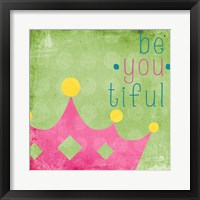 Be You Crown I Framed Print
