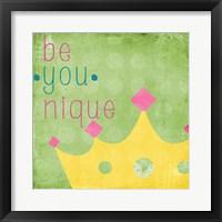Be You Crown II Framed Print