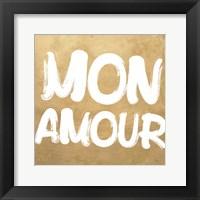 Framed Bonjour C'est La Vie IV