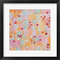 Flutter Kisses II Framed Print
