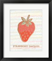 Tropical Drinks II Framed Print
