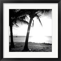 Framed BW Bimini Sunset II