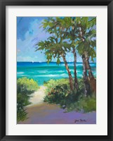 Caribbean View I Framed Print