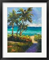 Framed Caribbean View II