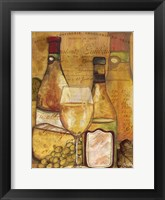 A Good Vintage on Gold II Framed Print