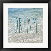 Framed Dream In The Ocean