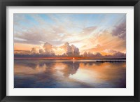 Framed Sunset Sunrise