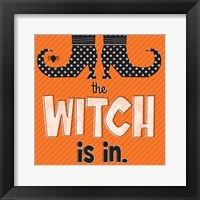 Witch Is In II Framed Print