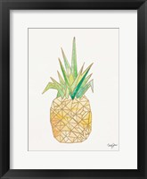 Framed Origami Pineapple