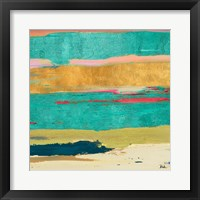 Tropical Sunrise II Framed Print