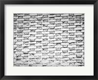 Gray Bricks I Framed Print