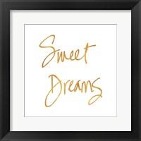 Framed Sweet Dreams