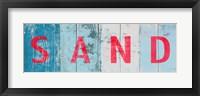 Beach and Sand II Framed Print