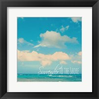Framed Surrender To The Shore