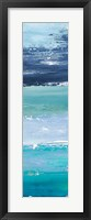 Blue Palette Panel II Framed Print
