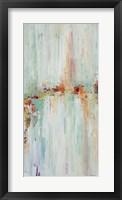 Framed Abstract Rhizome Panel II