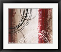 Tricolored Gestures I Framed Print