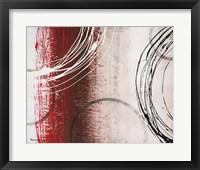 Tricolored Gestures II Framed Print