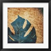 Balazo Damask II Framed Print