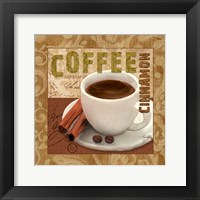 Brew with Flavor II Framed Print